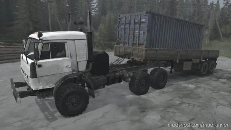 Kamaz-43114 Truck V16.07.20 for MudRunner
