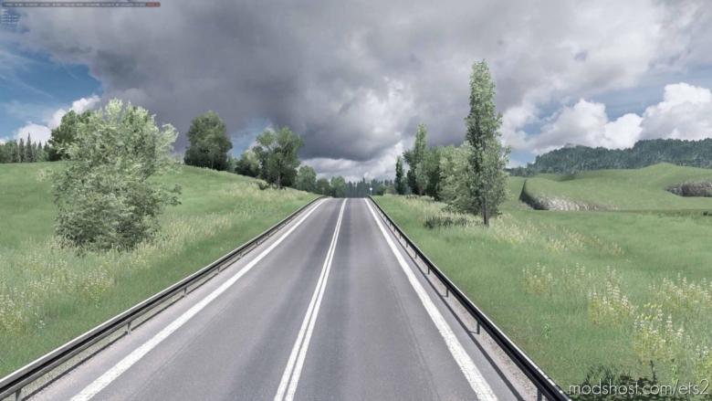 Grass V1.1.0 2K Going East for Euro Truck Simulator 2