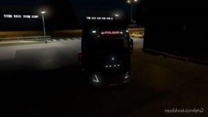 Volvo FH16 2012 6 Standard Lightbox – Poland [1.37 – 1.38] for Euro Truck Simulator 2