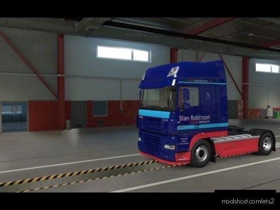 Stan Robinson DAF XF 5 for Euro Truck Simulator 2