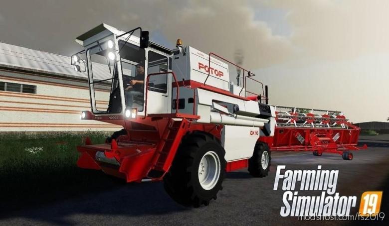 SK-10 Rotor V 2.0 for Farming Simulator 19