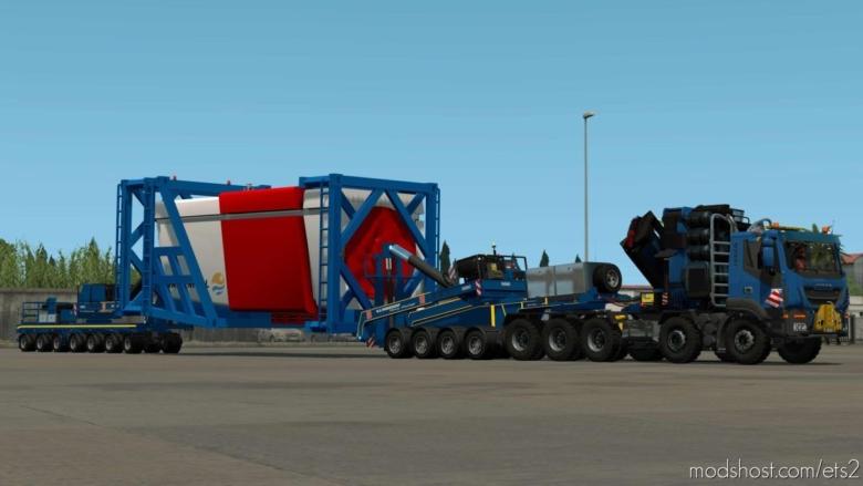 Nooteboom Wind Blade Special And Regular Transport for Euro Truck Simulator 2