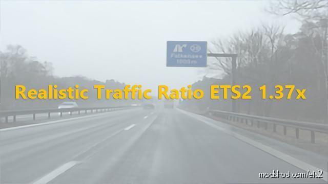 Realistic Traffic Ratio (Cars VS. Trucks VS Buses) [1.37] for Euro Truck Simulator 2