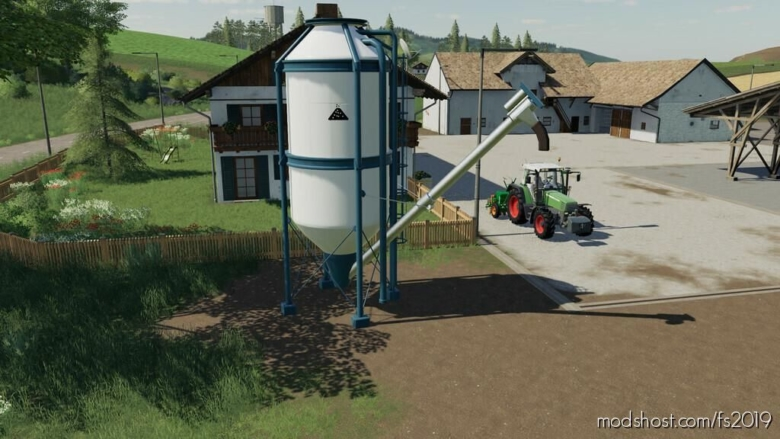 Placeable Silos Salt for Farming Simulator 19