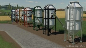Placeable Silos for Farming Simulator 19