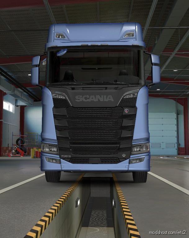 Scania Trucks Sound L6 & V8 [1.38] for Euro Truck Simulator 2