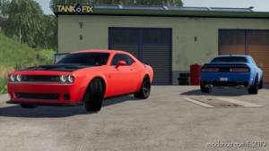 Dodge Challenger SRT Hellcat 2018 V2.0 for Farming Simulator 19