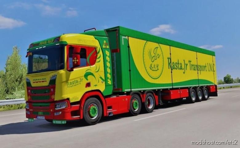 Scania V8 Sound R950 Konstantinidis Hotfix [1.38] for Euro Truck Simulator 2