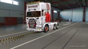 Skin Scania RJL Lacasa DE Papel for Euro Truck Simulator 2