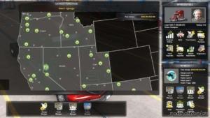 Full Save Game [1.38] (Full MAP) MpMods for American Truck Simulator