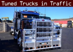 Tuned Truck Traffic Pack By Trafficmaniac V1.4.2 for American Truck Simulator