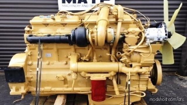 CAT 3406B Addon For Kenworth W 900 Long for American Truck Simulator