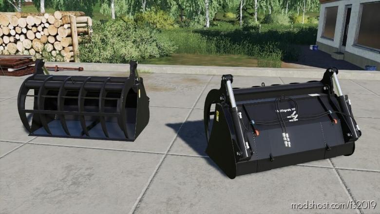 Aloe Multigrab 160 HD for Farming Simulator 19