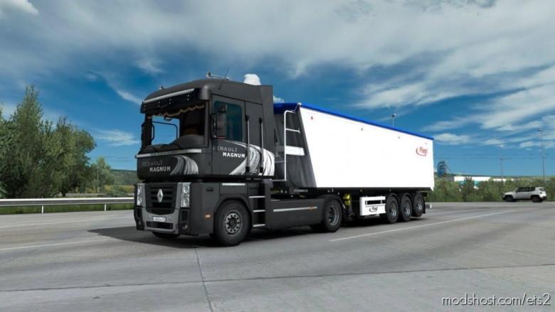 Renault Magnum/Premium Reworked Sound Mod [1.38] for Euro Truck Simulator 2