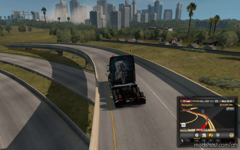 Truck Camera Distance [1.38] for American Truck Simulator