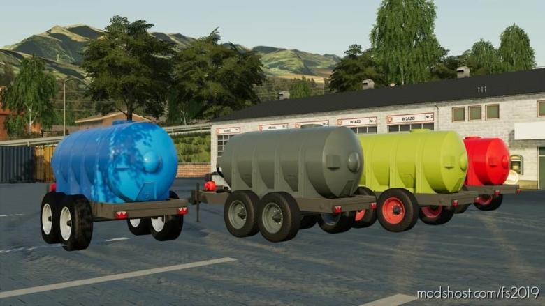 Water Trailer for Farming Simulator 19