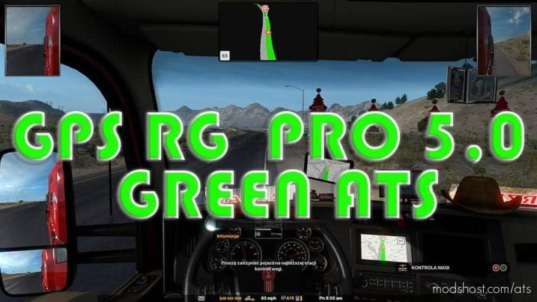 GPS RG PRO Green V5.0 for American Truck Simulator