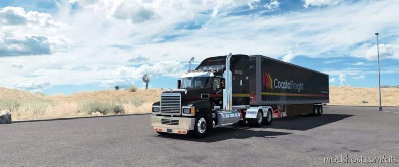 Mack Pinnacle CHU613 Truck V2.4 for American Truck Simulator
