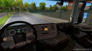 Scania Nextgen Brown Interior for Euro Truck Simulator 2