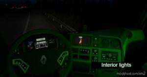 Interior Light For ALL Trucks [1.35.X – 1.36.X] for Euro Truck Simulator 2