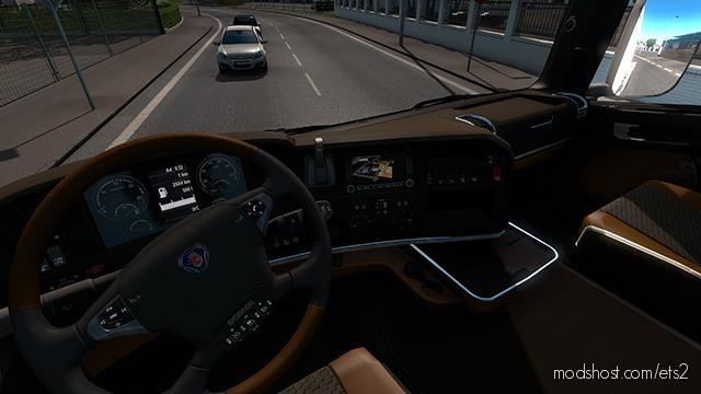 Scania R 2009 Topline & Streamline Interior for Euro Truck Simulator 2
