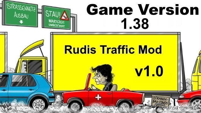 Rudis Rush Hour [1.38] for Euro Truck Simulator 2