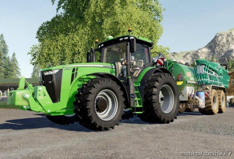 John Deere Series 8 Silver Edition for Farming Simulator 19