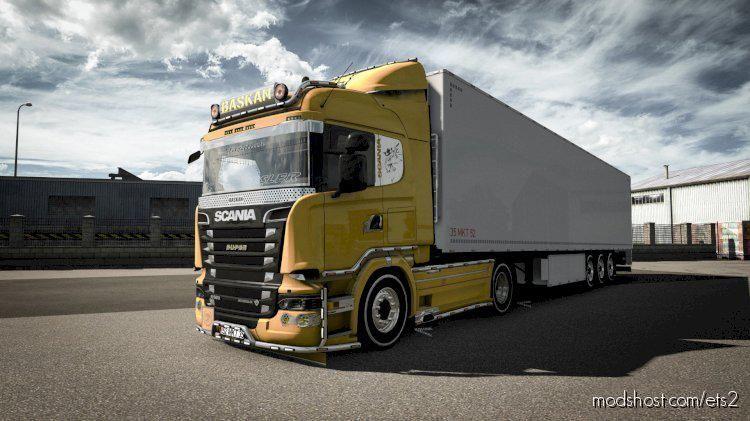 Scania R550 V10 for Euro Truck Simulator 2