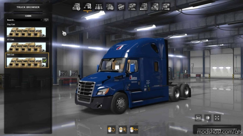 Freightliner Cascadia 2018 Truck V1.17 [1.38] for American Truck Simulator