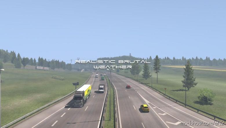 Realistic Brutal Weather V5.2 [1.38] for Euro Truck Simulator 2