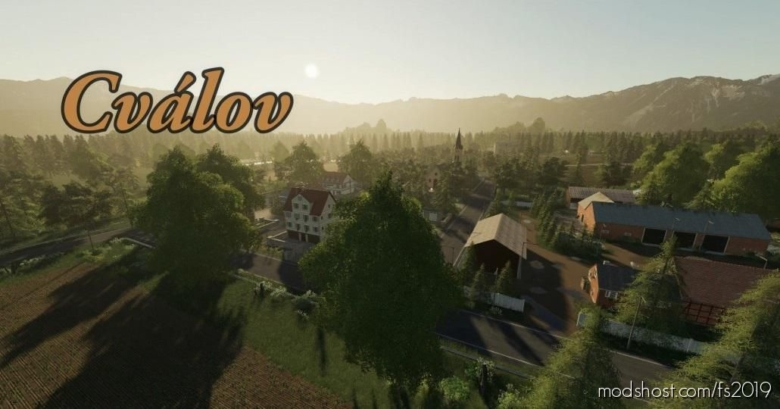 Cvalov Map for Farming Simulator 19