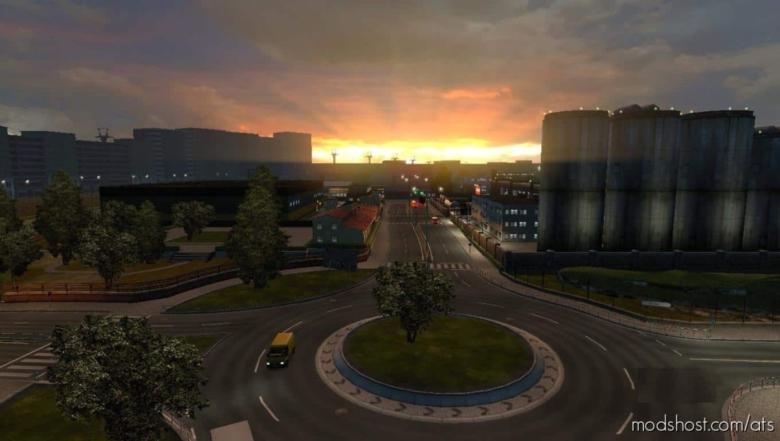 Realistic Brutal Weather V2.3 [1.38] for American Truck Simulator