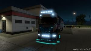 Alexd Flare And 10.000 K Lights For ALL Trucks V1.12 for Euro Truck Simulator 2