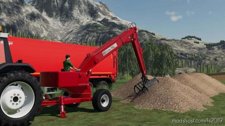 Trailed Loader for Farming Simulator 19