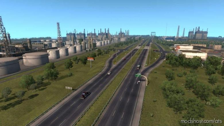 Coast To Coast Map V2.11.6 [1.38] for American Truck Simulator