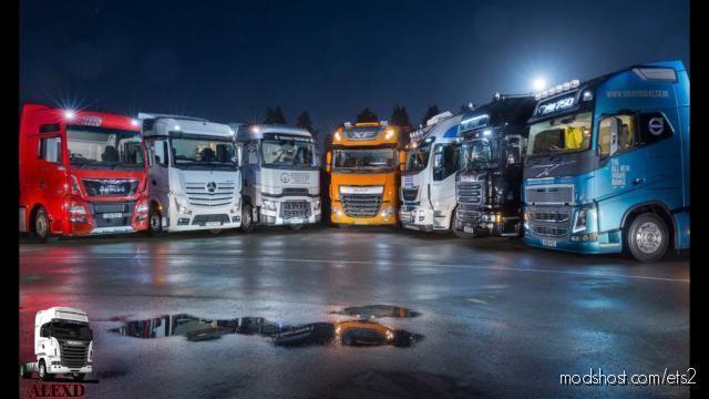 Alexd 1000 HP Engine ALL Trucks V1.7 for Euro Truck Simulator 2