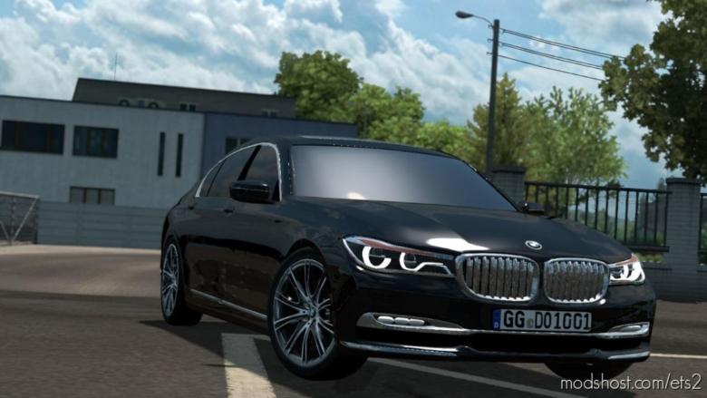 BMW 750 LD V1R40 [1.38] for Euro Truck Simulator 2