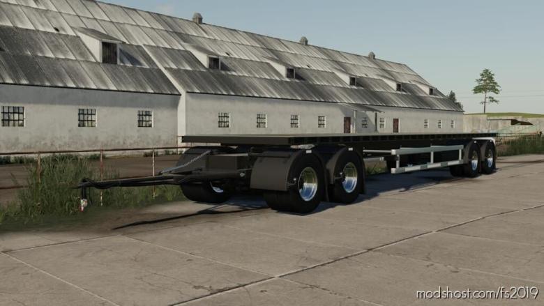 NMC Flatbed Trailer for Farming Simulator 19