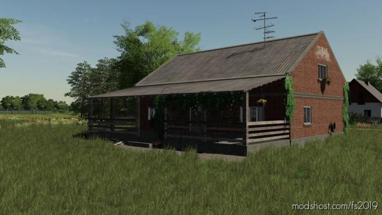 OLD Brick House for Farming Simulator 19