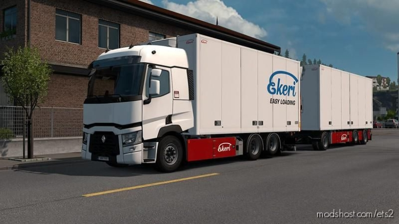 Renault Range T Rigid Addon By Kast V1.2.1 for Euro Truck Simulator 2