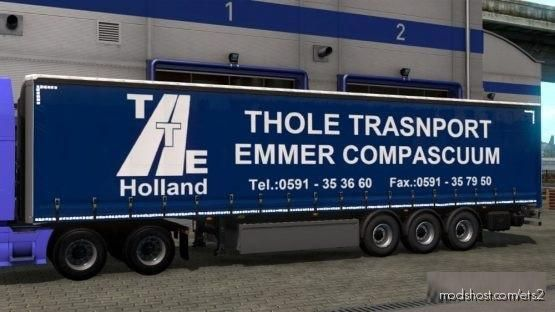 Thole Transport Trailer for Euro Truck Simulator 2