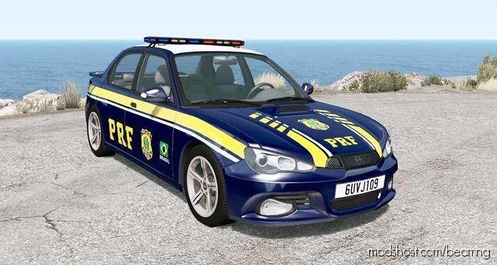 Hirochi Sunburst Brazilian PRF Police V0.9.1.1 for BeamNG.drive
