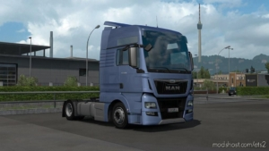 LOW Deck Chassis Addon For SCS MAN TGX E6 for Euro Truck Simulator 2