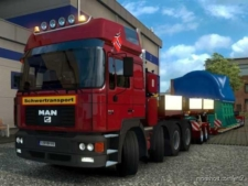 MAN F2000 [1.38] V2.0 for Euro Truck Simulator 2