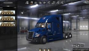 Freightliner Cascadia 2018 Truck V1.18 for American Truck Simulator