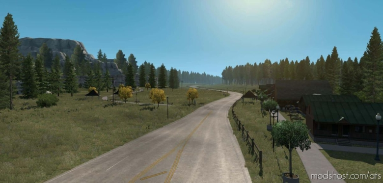 Great America V1.5.5 [1.38] for American Truck Simulator