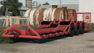 NMC 3-Axle Transport Trailer for Farming Simulator 19