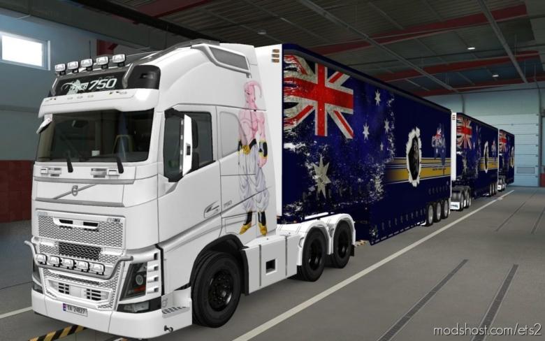 Skin Volvo FH16 2012 Majin BOO [1.37] for Euro Truck Simulator 2