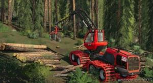 Komatsu 931XC By Warbossby for Farming Simulator 19