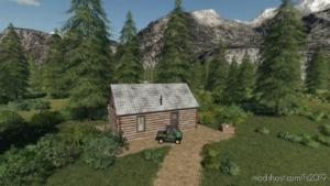 LOG Cabin (Farmhouse) for Farming Simulator 19